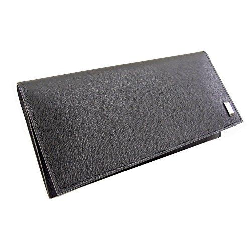 DUNHILL 【ダンヒル】 長財布 小銭入れ付き L2RF10A SIDECAR ブラック