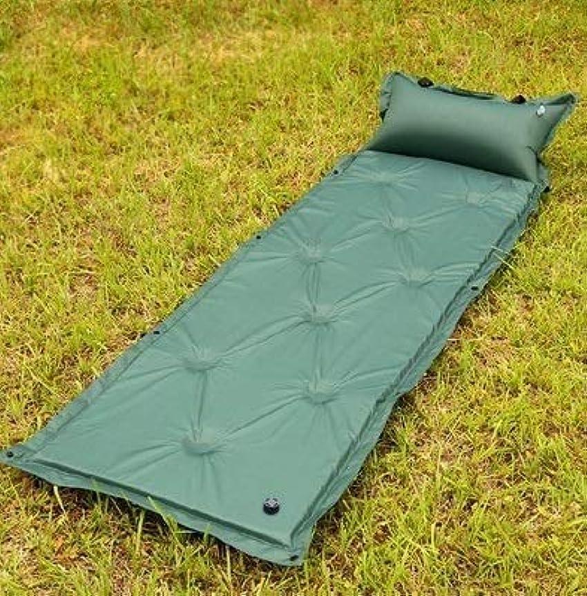しかし保険メニュー膨脹可能な屋外のキャンプ用マットの自己の膨脹可能なエアマットレスの睡眠パッドのエアベッド枕と接合可能
