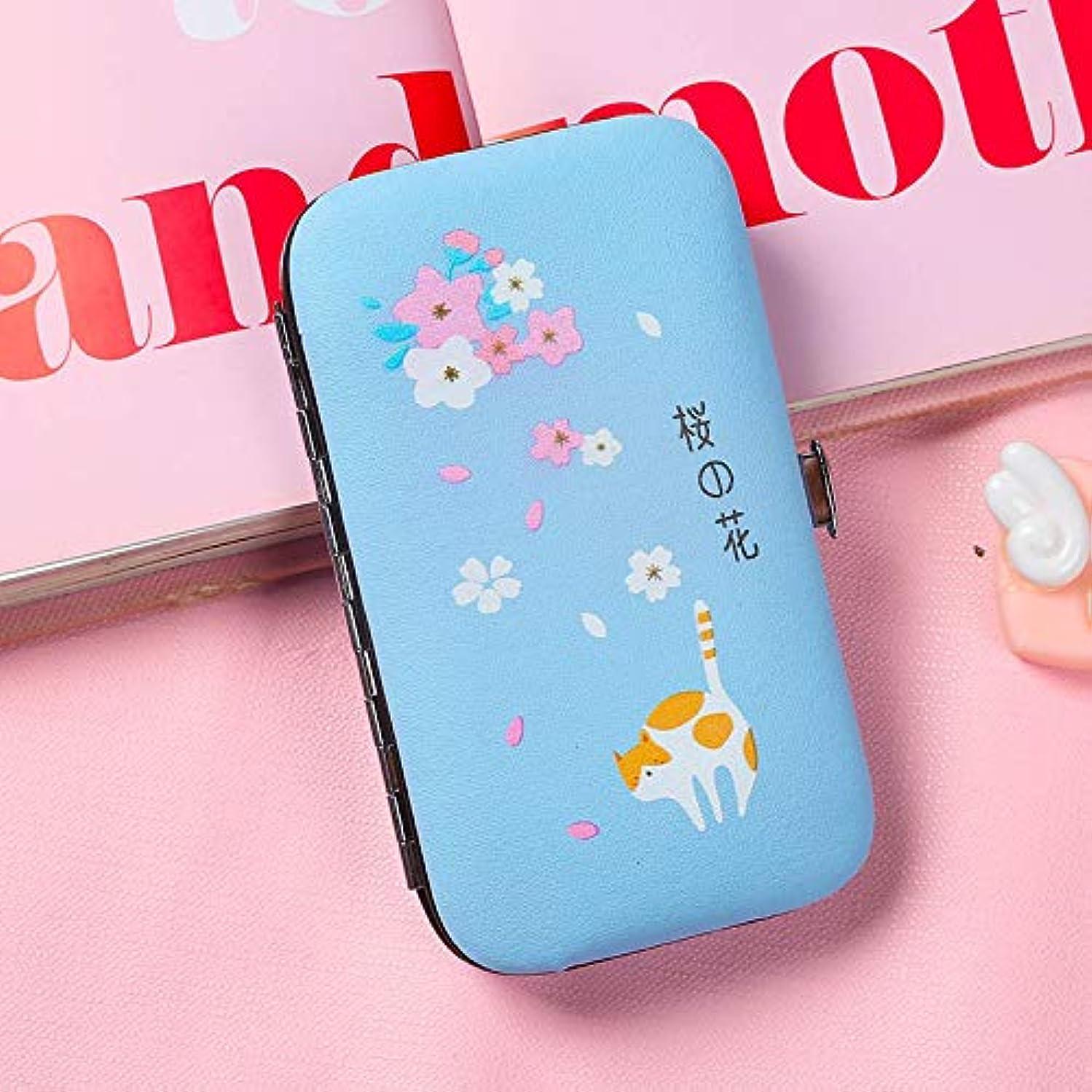 負担海外舌な新鮮な爪の創造的な小さなはさみ6ピースセット大人の学生のための爪ツール女の子のためのピンクの爪カッター