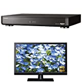 パナソニック 4TB 7チューナー ブルーレイレコーダー 全録 6チャンネル同時録画  Ultra HD対応 4K対応 全自動 DIGA DMR-UBX4030 + 24V型 ハイビジョン 液晶 テレビ VIERA TH-24D325 セット