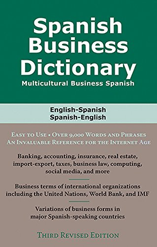 Download Spanish Business Dictionary: Multicultural Business Spanish 0884003396