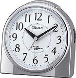 CITIZEN ( シチズン ) 電波 目覚まし 時計 ネムリーナリング 夜間常時点灯 シルバーメタリック 4RL432-019