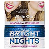 [White Glo] 白色Glo明るい夜白色フィルム(非過酸化物) - White Glo Bright Nights White Films (Non-Peroxide) [並行輸入品]