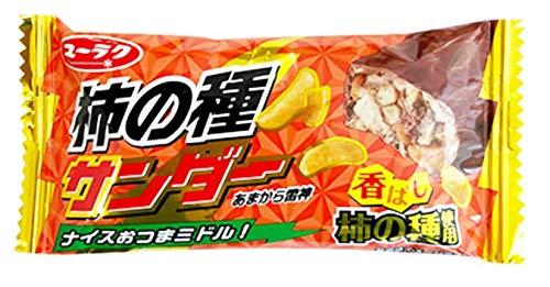 有楽製菓 柿の種サンダー 1本入×4個