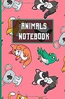 Animal Notebook: A5 / 6x9  / Kalender / Taschenbuch / Notizbuch mit 120 karierten Seiten / Fuer alle Tier und Natur Fans
