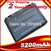 HSW new laptop battery for Asus k50ij k50ab battery for laptop k40in k50in F52 F82 K40 K50 A32-F52 A32-F82 replacement battery
