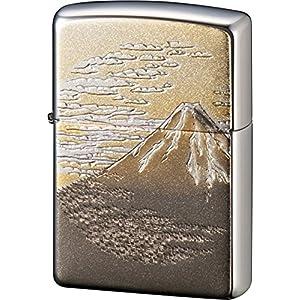 ZIPPO ライター 電鋳板 富士 シルバーの関連商品4