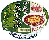 ニュータッチ 凄麺 かき揚げ天ぷらそば 116g×12個