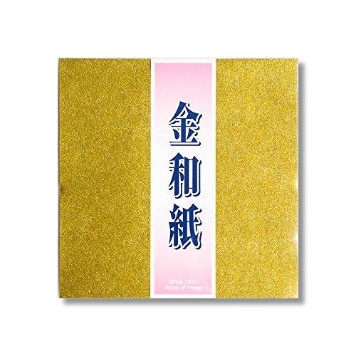 [해외]교토의 코끼리 2-453 금 종이 종이 종이 접기 15cm 각 10 장/Kyo no Elephant 2-453 Kanji Japanese paper origami 15 cm square 10 pieces