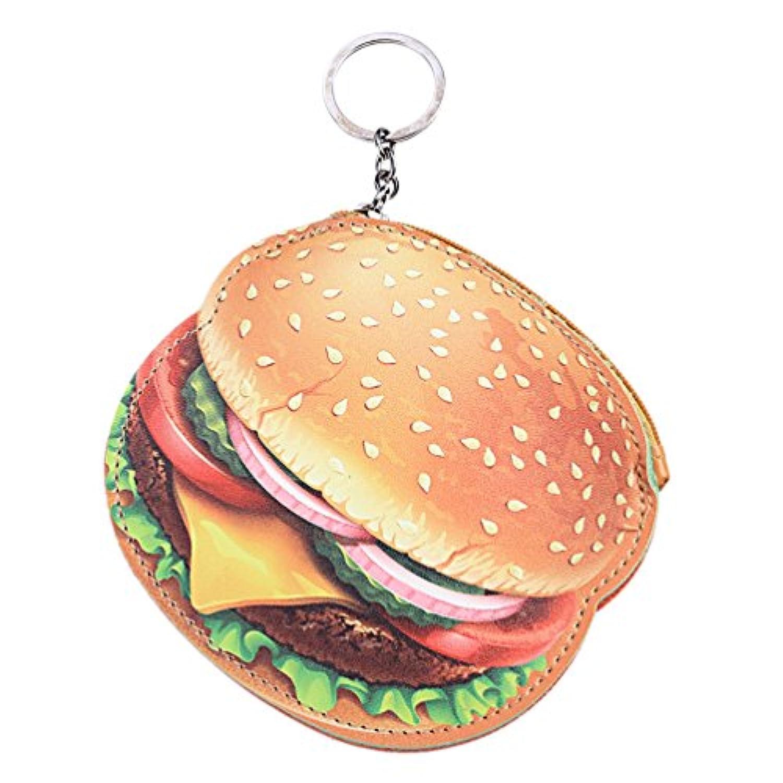 Hongma 小銭入れ コインケース 財布 ポーチ 可愛い フード型 デザイン リング付き PUレザー製 女の子 プレゼント 全5種類