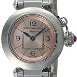 腕時計 ミス パシャ ピンク W3140008 レディース カルティエ画像②