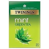 1パックトワイニングのミントグリーンティー20 - Twinings Mint Green Tea 20 per pack [並行輸入品]