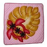 ハワイアンキルト クッションカバー 38×38 ホヌ ピンク /ハワイアン雑貨 インテリア