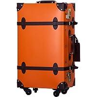 TANOBI トランクケース キャリーバッグ SS機内持込可 手作り 復古主義 修学旅行 ネームタグ レトロ おしゃれ…