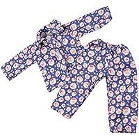 Lovoski  かわいい 花柄 パジャマ 18インチ アメリカンガールドール適用 装飾