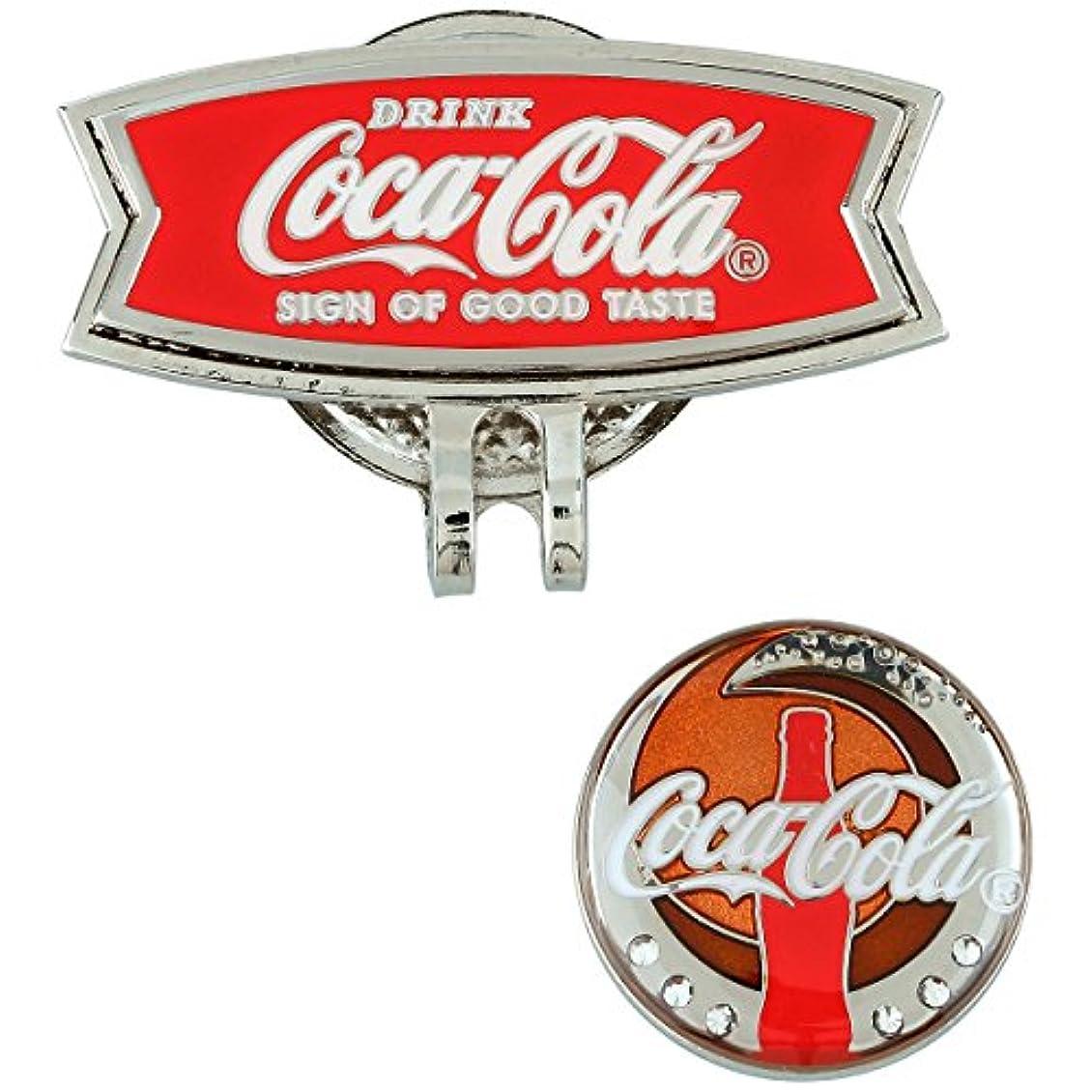 神学校知っているに立ち寄るチャーターCoca-Cola(コカ?コーラ) ゴルフ リバーシブルマーカー