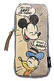 デルフィーノ デニムヒッコリーペンケース ディズニー ミッキー&ドナルド DZ-78301