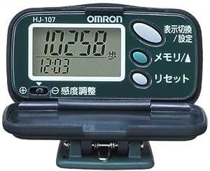 オムロン(OMRON) 歩数計 ヘルスカウンタ ステップス フォレストグリーン HJ-107-G