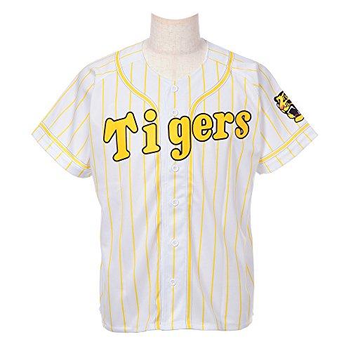MIZUNO(ミズノ) プリントカラージャージ 阪神タイガース 背番号なし イエロー Oサイズ 12JRMT3800O-45