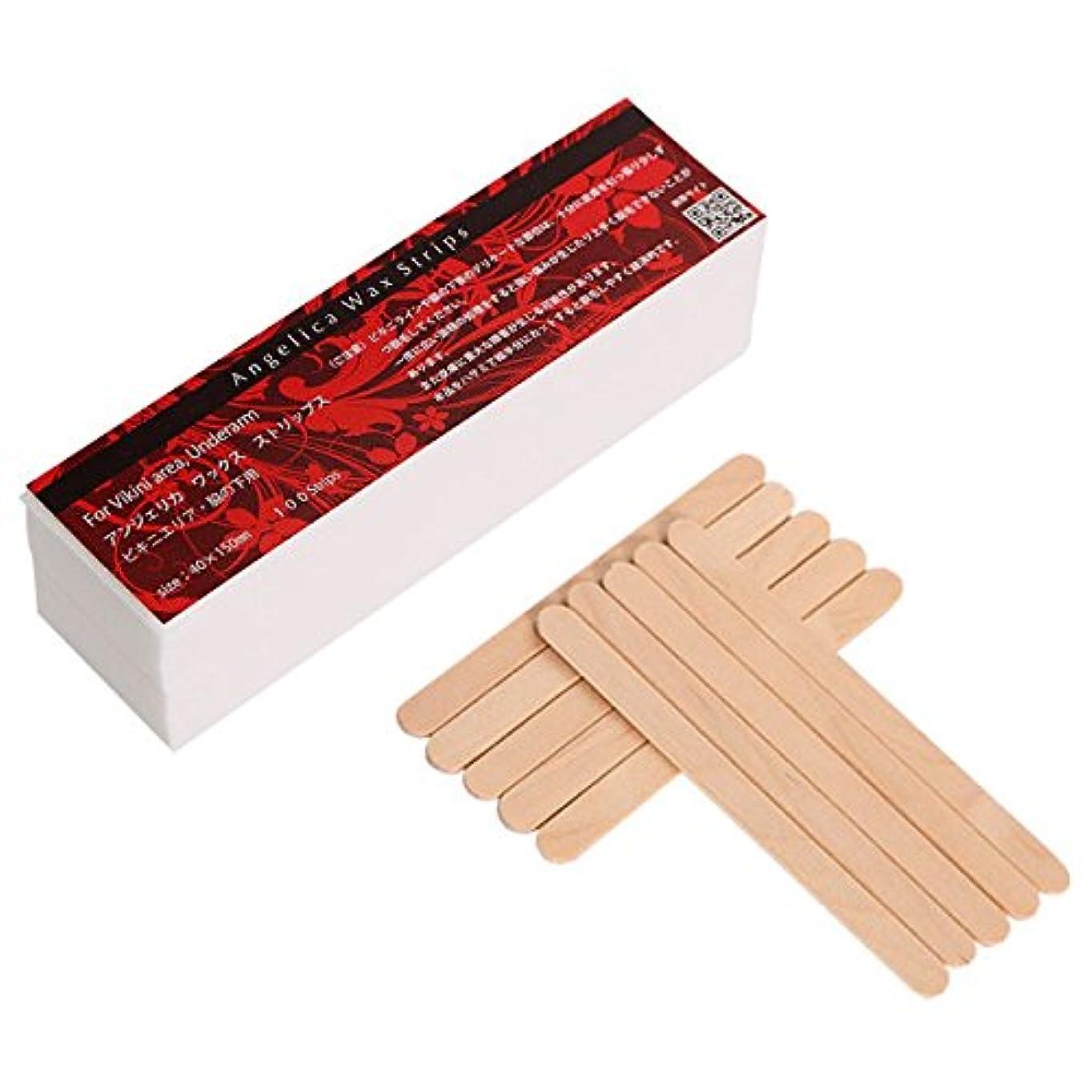 ビキニ用ストリップス 4cm×15cm(100枚)&スパチュラセット