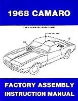 1968Chevrolet Camaro Rs Ss z28アセンブリShop手動