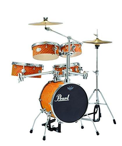 Pearl パール ドラム リズムトラベラー Version 3S   Orange Swirl  RT-645N/C  439
