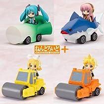 Nendoroid Plus Vocaloid Pull-back Cars Miku Lynn Len Luke all four sets