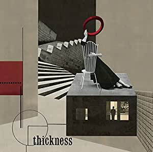 【Amazon.co.jp限定】 thickness (初回限定盤)(DVD付)(A6サイズポストカード付)
