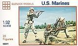 プラッツ GM2201 1/32 WW.II アメリカ海兵隊 フィギュアセット
