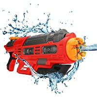 HooMall 水鉄砲 強力 超強力飛距離 10-12m ウォーターガン 子供に人気 夏の定番 夏祭り 水遊び 水撃ショット 水ピストル 高性能 おもちゃ
