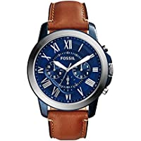 Fossil Men's Grant Analog quartz Brown Watch, (FS5151)