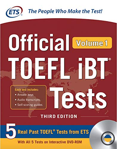 Download Official TOEFL iBT Tests Volume 1, Third Edition 1260441008