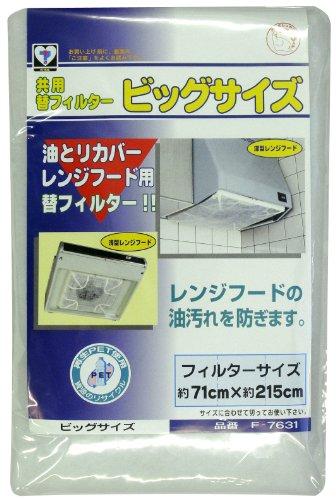 新北九州工業 換気扇 フィルター ビッグサイズ 75×215cm