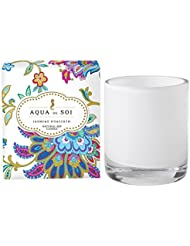 Soi会社Aqua De Soi 100 %プレミアム天然Soy Candle、11オンスBoxed Jar ホワイト unknown