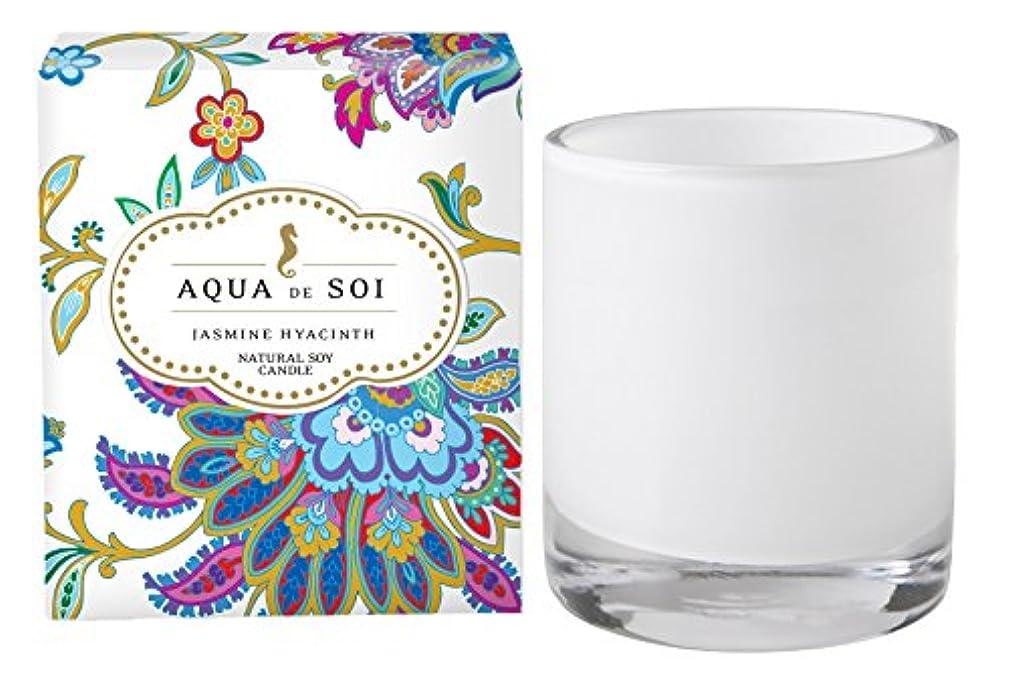 レクリエーションお世話になったページェントSoi会社Aqua De Soi 100 %プレミアム天然Soy Candle、11オンスBoxed Jar ホワイト unknown