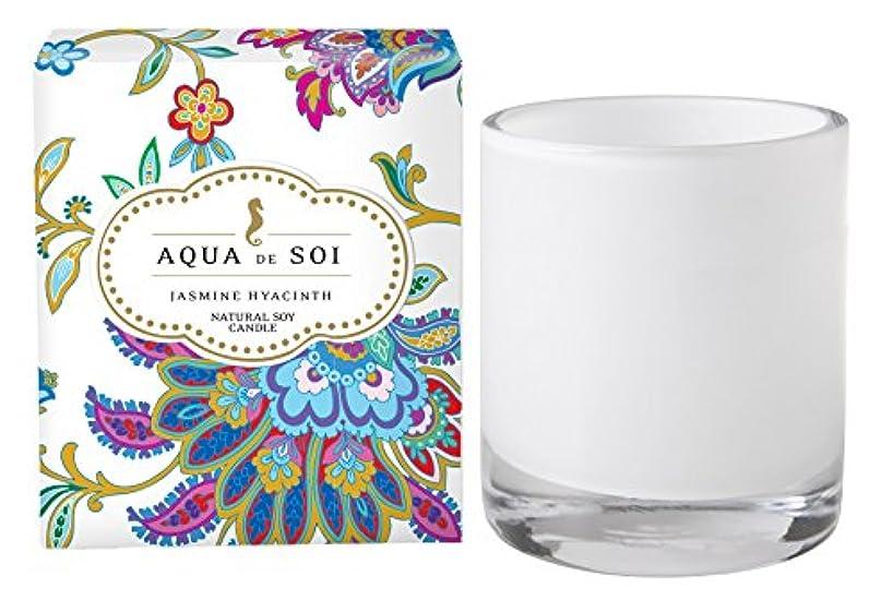 バスケットボールバンク分類Soi会社Aqua De Soi 100 %プレミアム天然Soy Candle、11オンスBoxed Jar ホワイト unknown