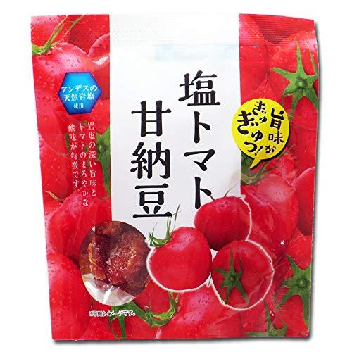 マルキューの珍味 塩トマト甘納豆 アンデスの天然岩塩使用