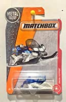 Matchbox 2017 MBX Heroic Rescue Snow Ripper (Snow Mobile) 73/125 Blue and White [並行輸入品]
