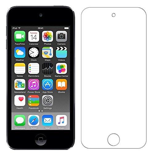RoiCiel iPod touch 6(5)世代用液晶保護強化ガラスフィルム 硬度9H 超薄0.3mm 2.5D ラウンドエッジ加工 (iPod Touch 6(5) 世代)