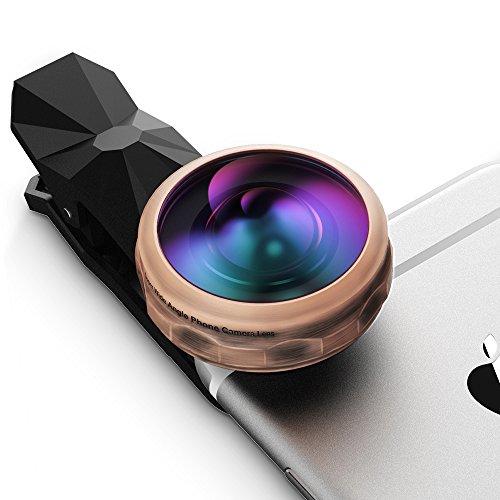 Qtop 238°超広角レンズ 魚眼レンズ カメラレンズキット 高透明度 iPhone/HTC/Android タブレットPCなど対応