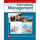 ISE International Management: Culture, Strategy, and Behavior