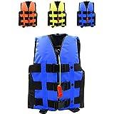 ライフジャケット フローティングベスト 救命胴衣 2-6歳 強い浮力 高い負荷力 Hibote S M 子供用 緊急時に役立つ 漂流 ボート釣 ブルー S