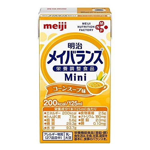 明治メイバランス ミニ mini コーンスープ味125ml 24個セット