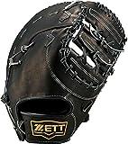 ZETT(ゼット) 野球 軟式 ミット ネオステイタス 一塁手用 ブラック BRFB31613 1900 LH