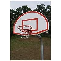 Heavy Duty Bent PostバスケットボールBackstopスタイル:アルミニウムとスチールのNet