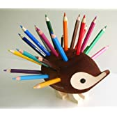 コイノア 色鉛筆24色 ハリネズミスタンド