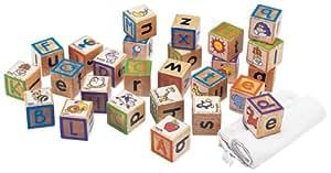 ABCアルファベット積み木 ABC TOUCHY BLOCKS