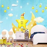 Mbwlkj 3D 壁紙の壁画のデスクトップの壁紙のモダンな 3 写真 Hd かわいいアニメ『月の子供の開発室の壁のレストランウォールペーパー-250Cmx175Cm