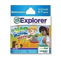 リープフロッグ(LeapFrog) リープスクールマス(算数) LEAPFROG EXPLORER SW, LEARNING GAME, LEAPSCHOOL MATHS (2012) 39102