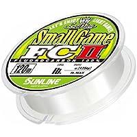 サンライン(SUNLINE) フロロカーボンライン ソルティメイト スモールゲームFC II 120m 0.3号 1lb ナチュラルクリア